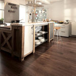 Bordeaux Wood flooring in Kitchen